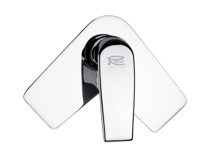 Chrome-plated single handle shower mixer ATMOS | Single handle shower mixer by Remer Rubinetterie