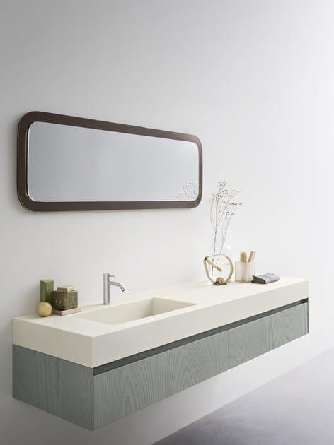 MOODE   Mobile lavabo con cassetti By Rexa Design design Monica Graffeo