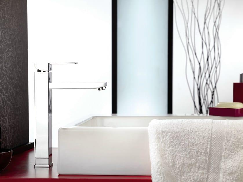 Single handle washbasin mixer QUBIKA | Single handle washbasin mixer by Remer Rubinetterie