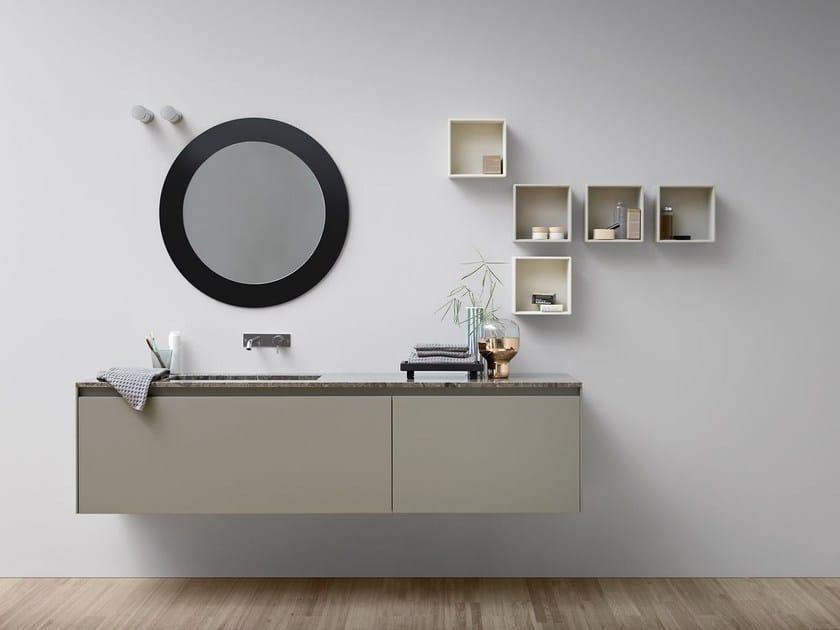 Mobile lavabo laccato singolo MOODE | Mobile lavabo laccato by Rexa Design