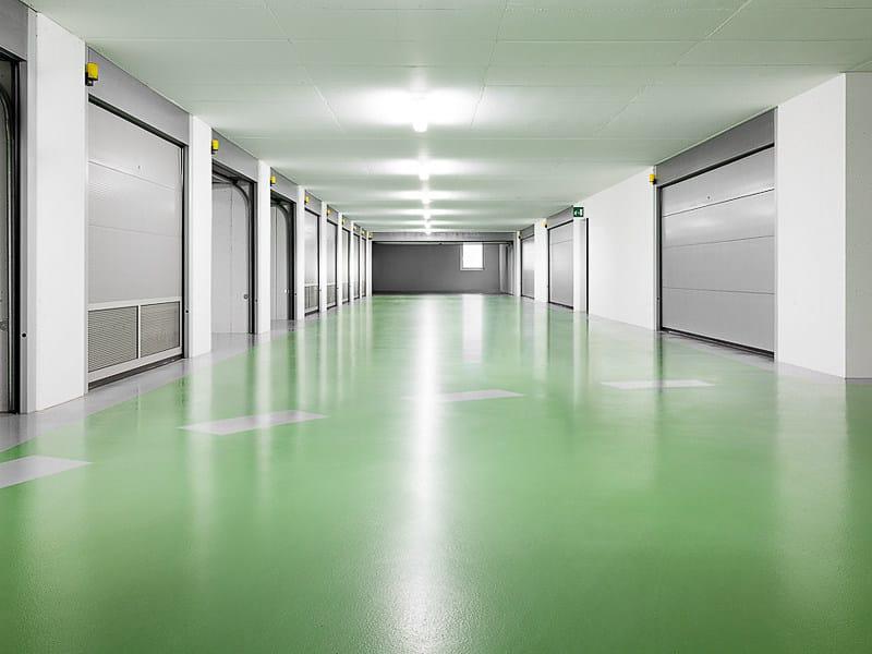 Resin industrial flooring IPM PARKING by IPM Italia