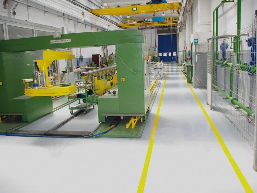 Resin industrial flooring BASIC GF by IPM Italia