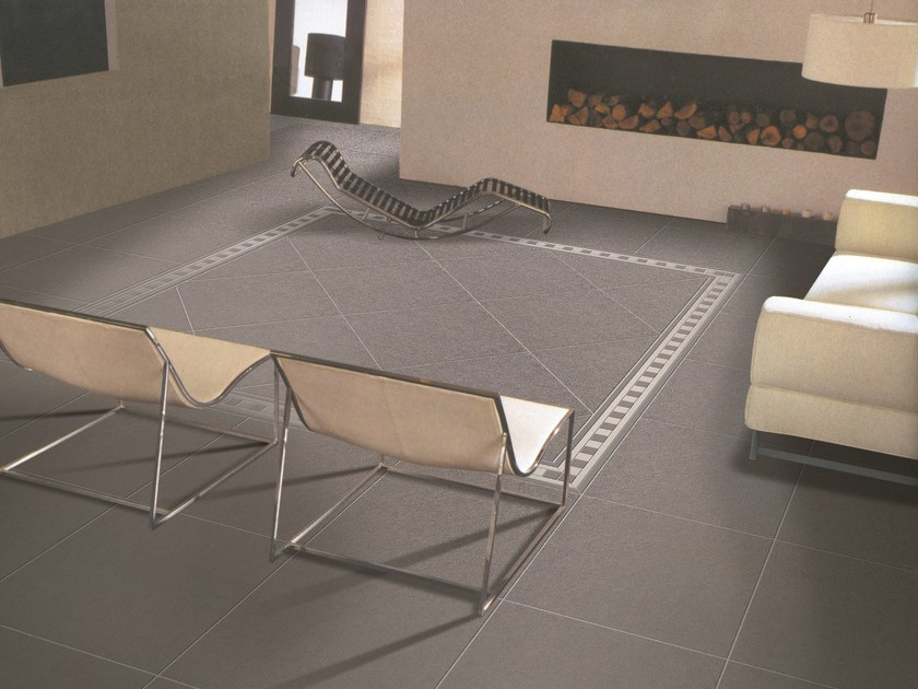 Full-body porcelain stoneware flooring LUX by ROMAX