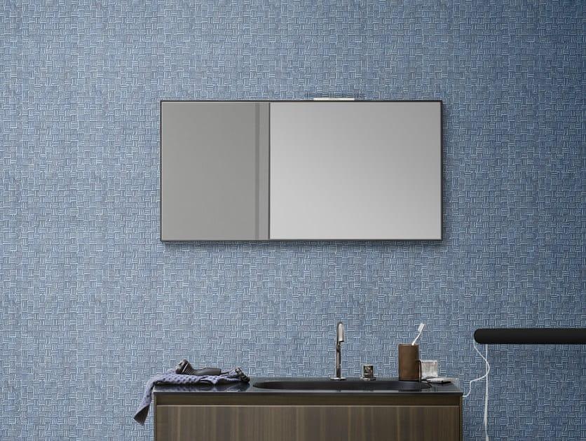 Wall-mounted rectangular mirror MOODE | Mirror by Rexa Design