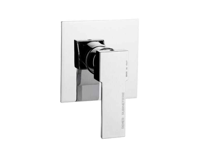 Single handle shower mixer QUBIKA | Shower mixer by Remer Rubinetterie