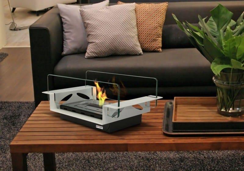 Table-top bioethanol fireplace RIALTO by bioKamino