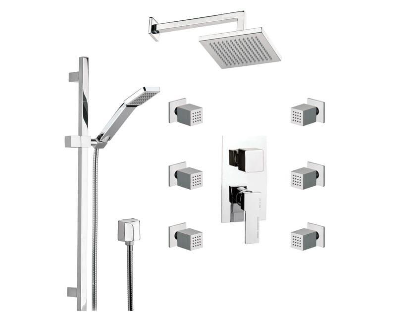 Shower wallbar QUBIKA   Shower wallbar by Remer Rubinetterie