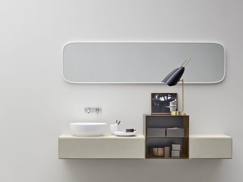 Single ecomalta vanity unit ESPERANTO | Single vanity unit by Rexa Design