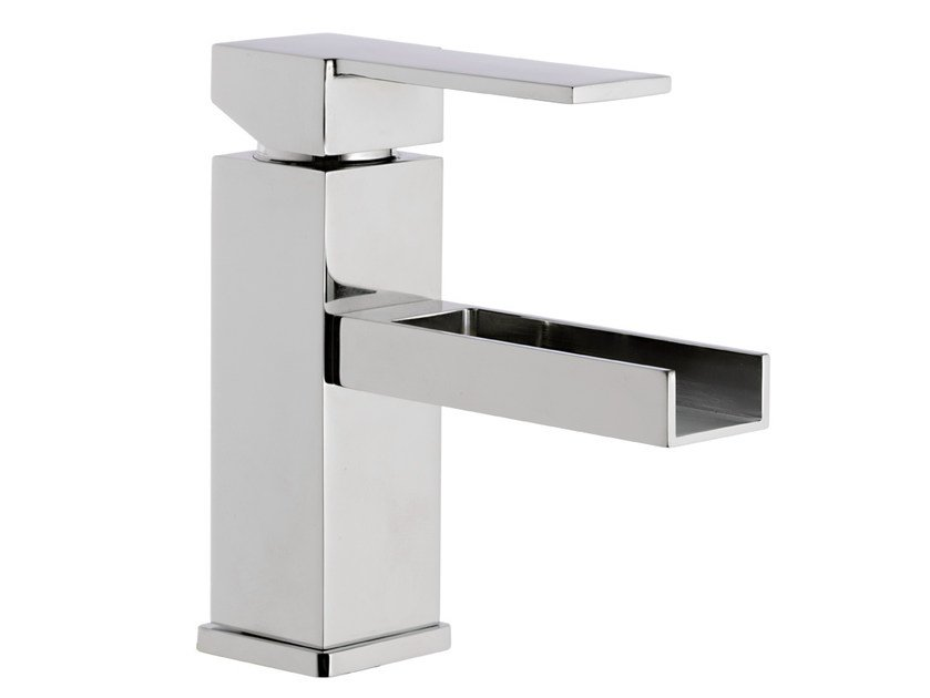 QUBIKA CASCATA | Miscelatore per lavabo