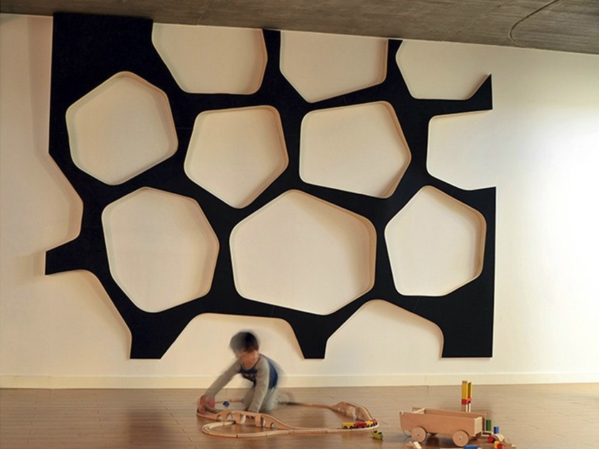 Indoor wooden 3D Wall Surface EO SYSTEM by Wallia