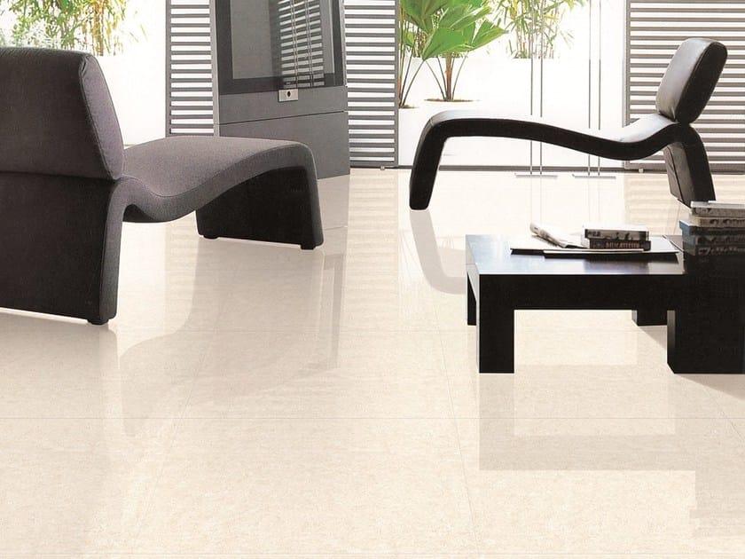 Full-body porcelain stoneware flooring POLISH STAR by ROMAX