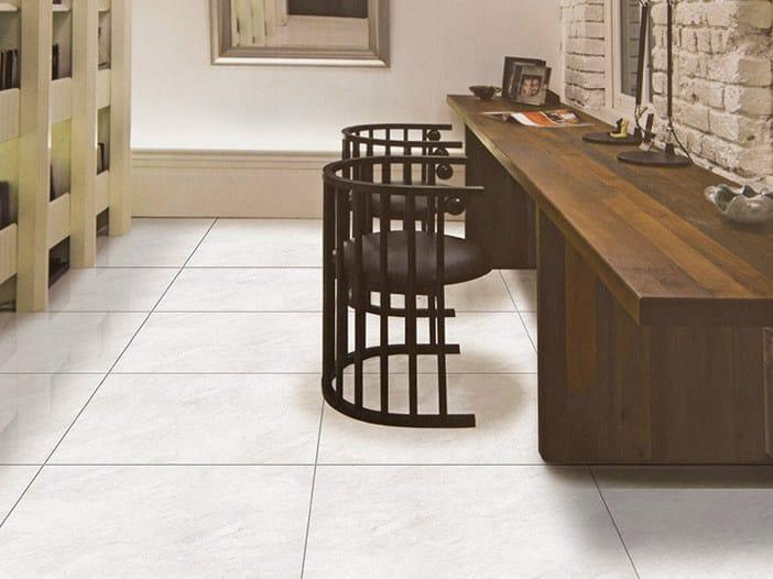 Full-body porcelain stoneware flooring FUSSENA by ROMAX