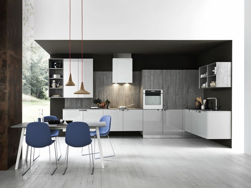 Linear fitted kitchen ARIEL - COMPOSITION 2 by Cesar
