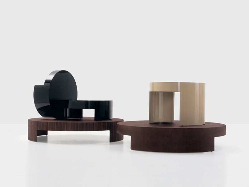 Round coffee table TURN by Nube Italia