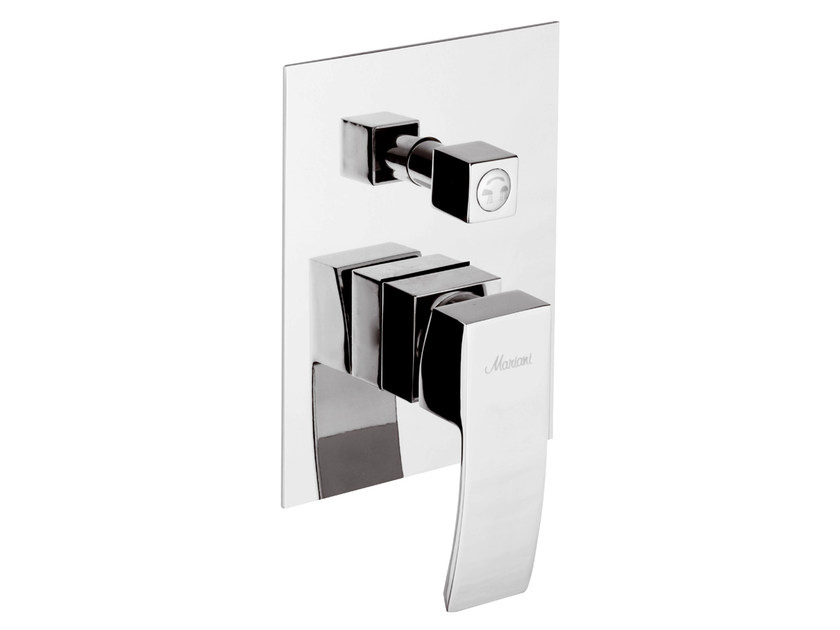 Shower mixer with diverter MARTE | Shower mixer with diverter by Rubinetterie Mariani