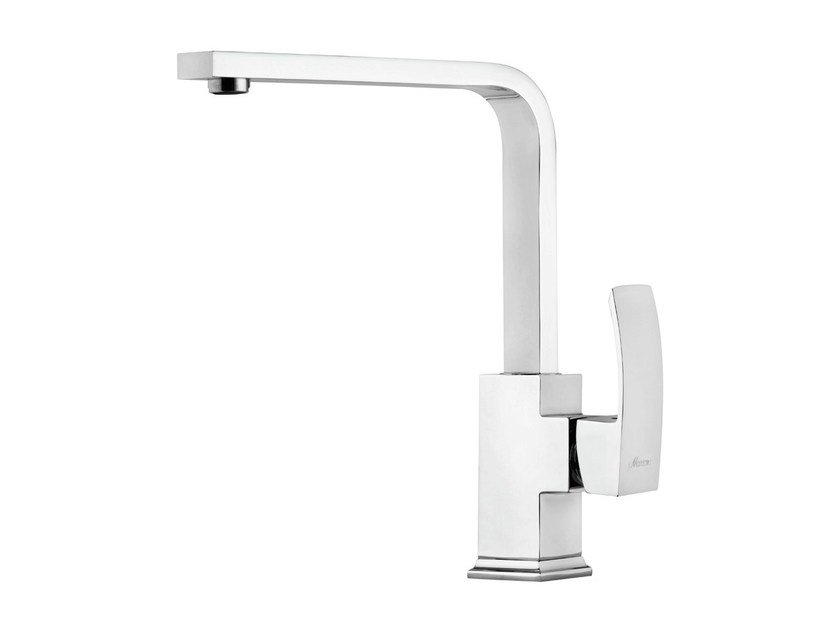 Chrome-plated countertop 1 hole kitchen mixer tap MARTE | Kitchen mixer tap by Rubinetterie Mariani