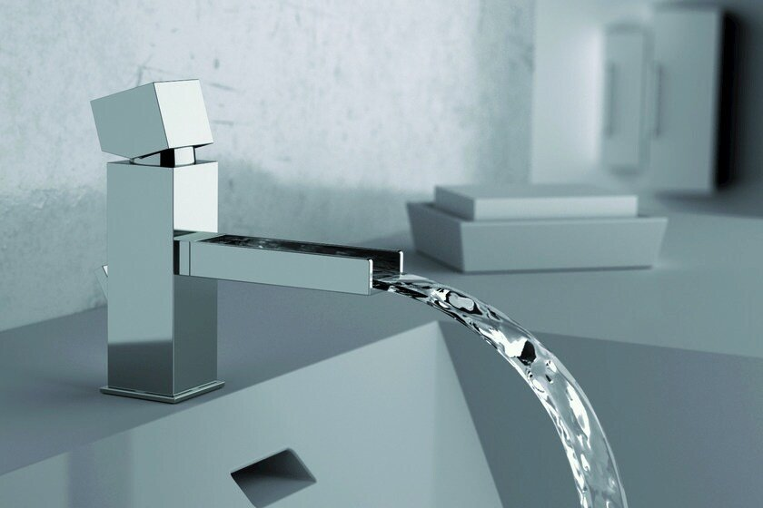 Washbasin mixer without waste RIVER | Washbasin mixer without waste by Rubinetterie Mariani