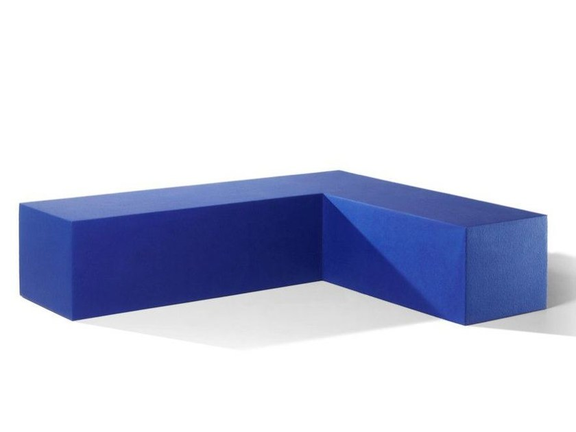 Backless QM Foam bench seating INFINITY CORNER by Quinze & Milan