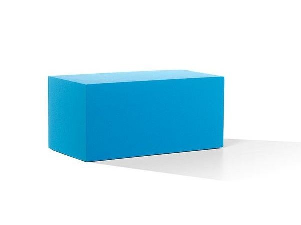 Backless QM Foam bench seating INFINITY STRAIGHT S by Quinze & Milan