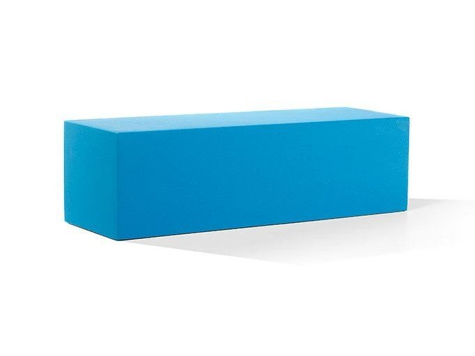 Backless QM Foam bench seating INFINITY STRAIGHT L by Quinze & Milan
