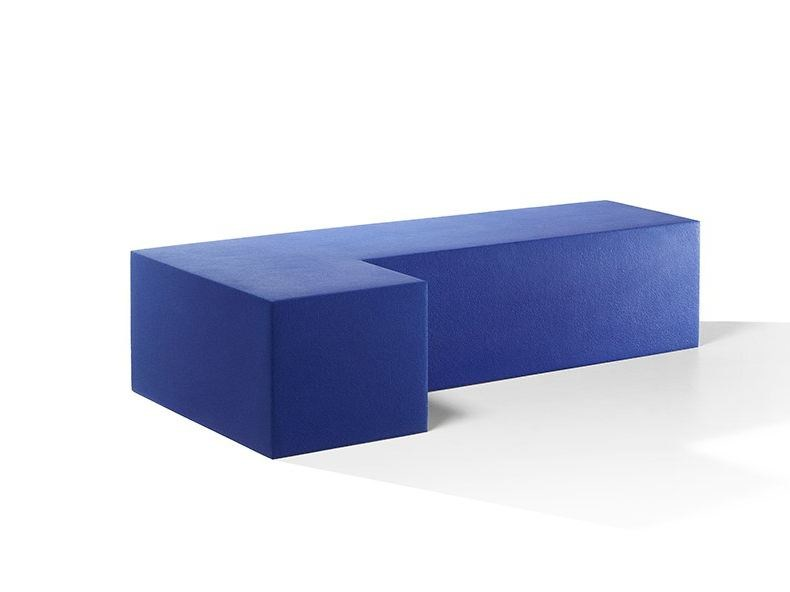 Backless QM Foam bench seating INFINITY L-SEAT by Quinze & Milan