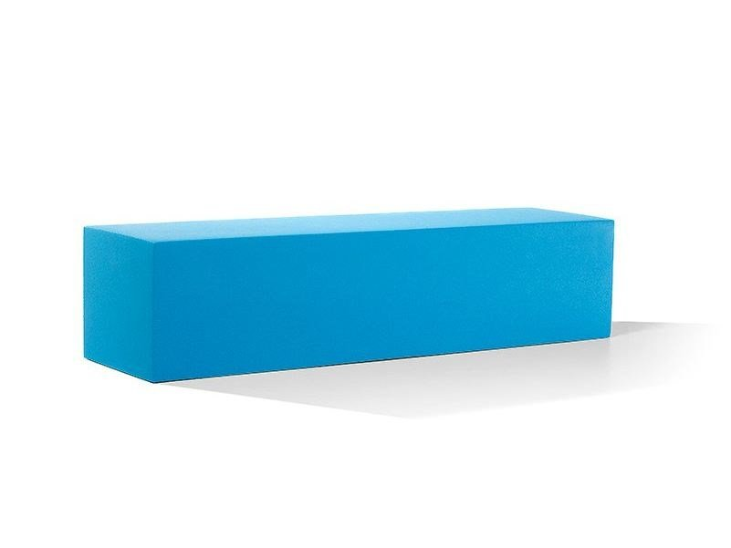 Backless QM Foam bench seating INFINITY STRAIGHT XL by Quinze & Milan