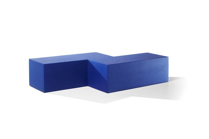 Backless QM Foam bench seating INFINITY Z-SEAT by Quinze & Milan