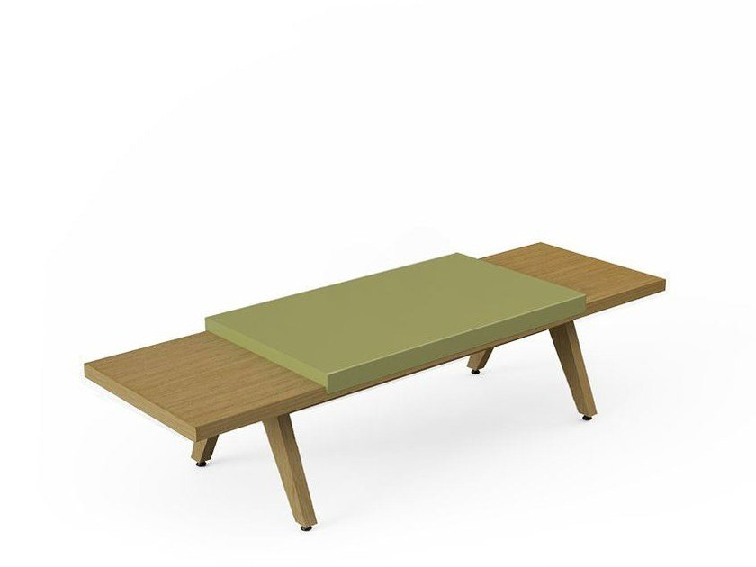 Backless bench seating AIRBENCH 01 by Quinze & Milan