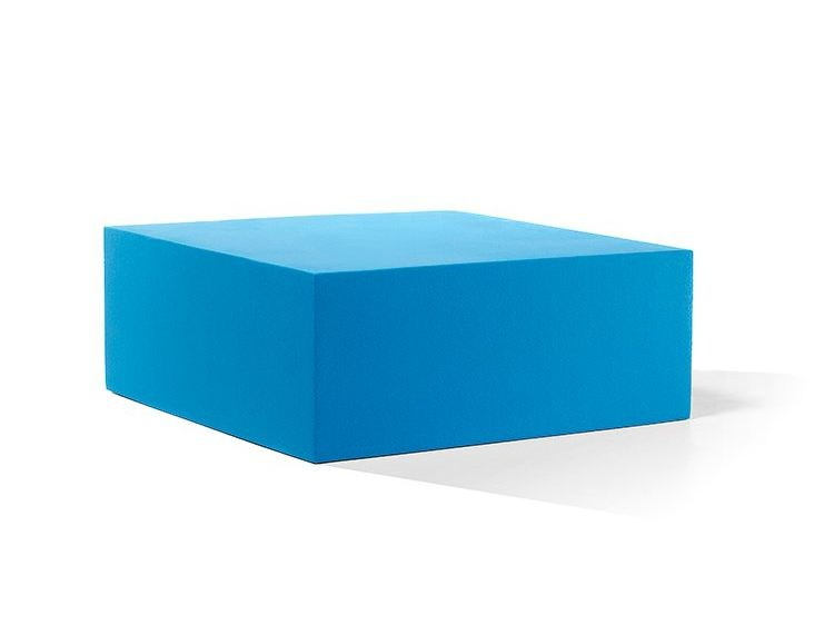 Backless QM Foam bench seating INFINITY CUBE XL by Quinze & Milan