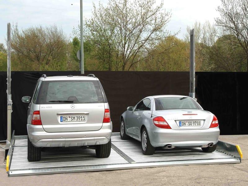 Raddoppiatori da box SERIE 1 Sistema di parcheggio per 4 auto