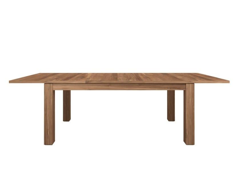 Rectangular teak dining table TEAK STRETCH | Table by Ethnicraft