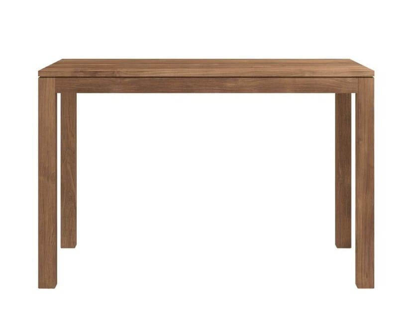 Rectangular teak dining table TEAK KUBUS | Teak table by Ethnicraft