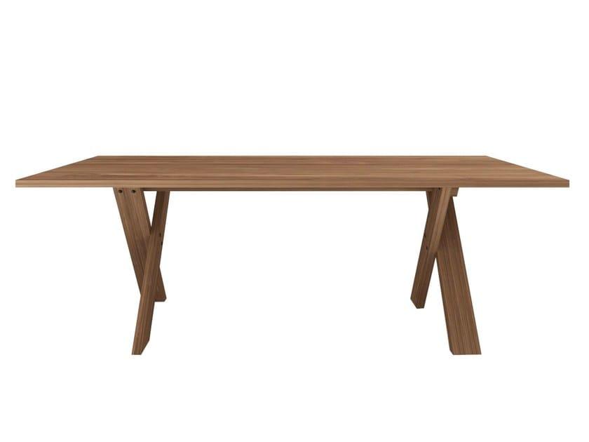 Rectangular teak dining table TEAK PETTERSON | Table by Ethnicraft