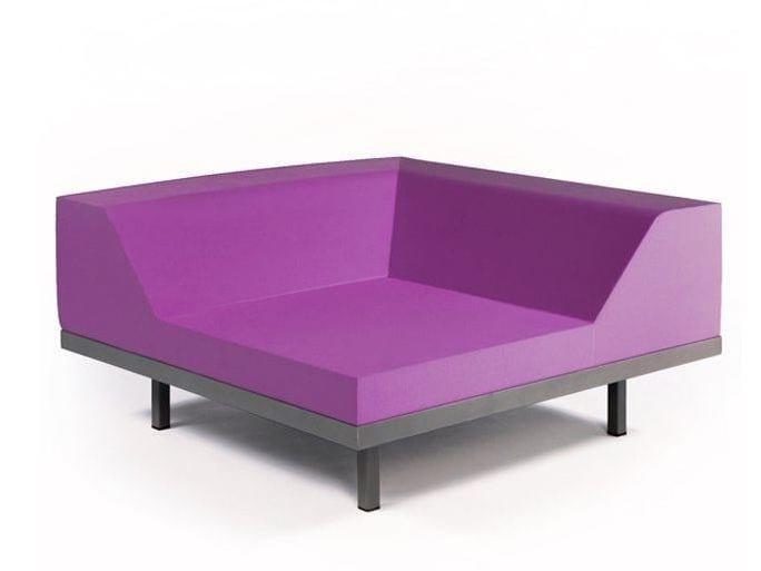 Corner armchair M2 CORNER by Quinze & Milan
