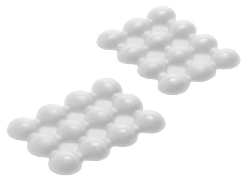 Countertop polyurethane gel soap dish LEBOLLE S by Geelli