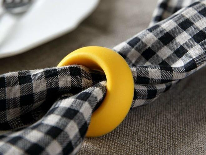 Polyurethane gel napkin holder DON PASQUALE | Napkin holder by Geelli