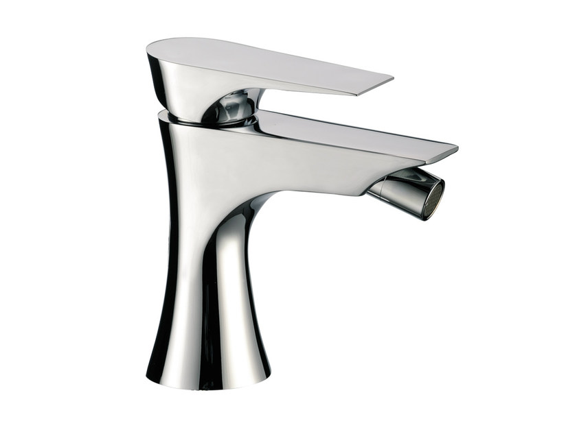 Single handle bidet mixer without waste DIVA | Bidet mixer without waste by Daniel Rubinetterie