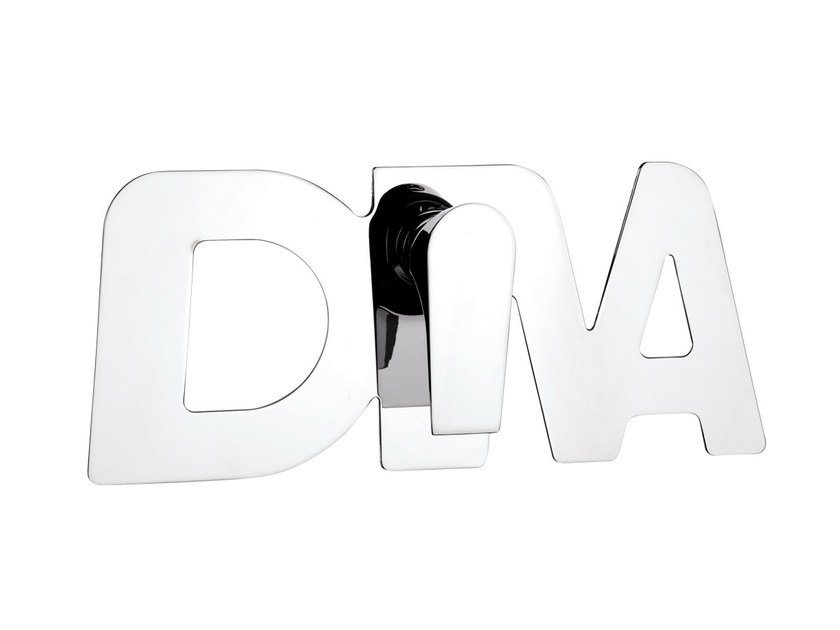 Chrome-plated single handle shower mixer DIVA   Chrome-plated shower mixer by Daniel Rubinetterie