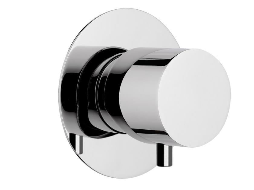 Déviateur 3 voies en laiton chromé DIVA | Déviateur 3 voies by Daniel Rubinetterie