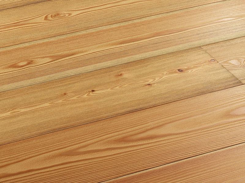 Floating larch parquet MAIRIE by Woodco
