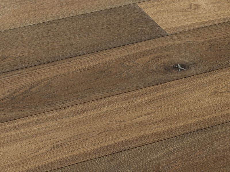 Floating oak parquet NISIEN by Woodco