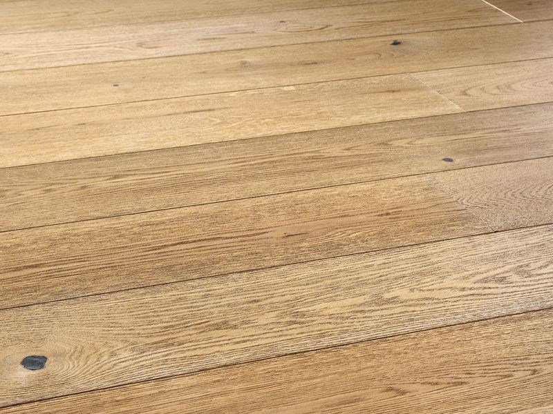 Floating oak parquet FANNIT by Woodco