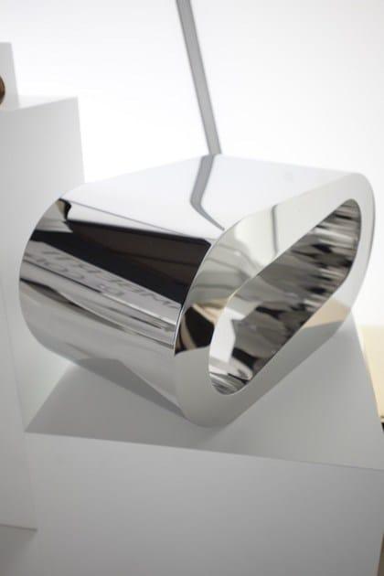 Design Lamberti Tavolino O Onda In Alluminio 8n0PNOkXZw