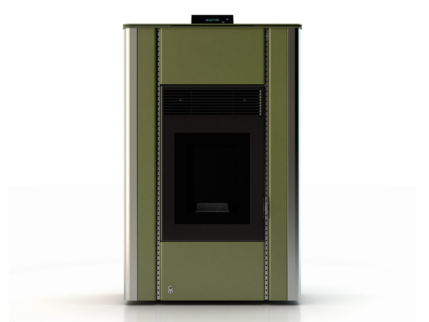 Pellet stove NUANCE MINERAL EMERALD 2 by CAR-MET