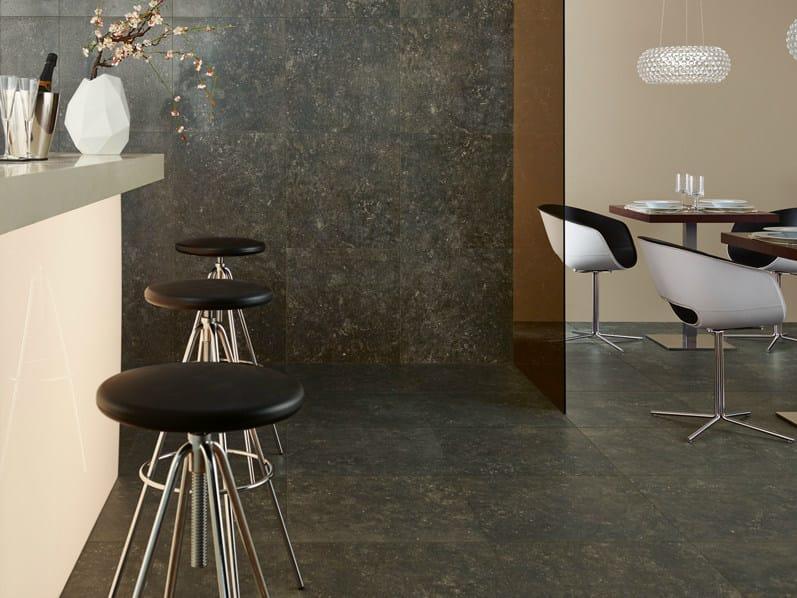 Porcelain stoneware wall/floor tiles BLUESTONE TABAC by Revigrés