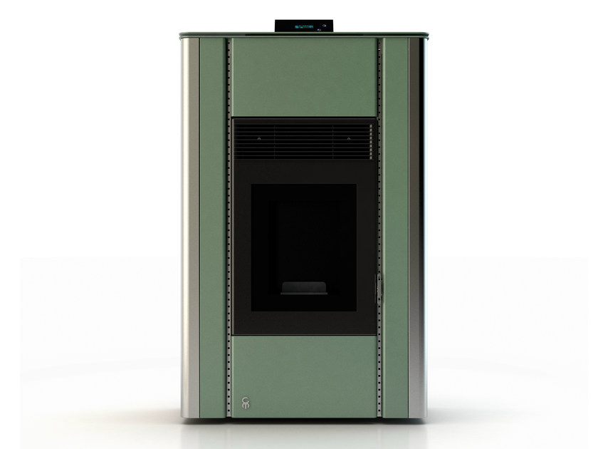 Pellet stove NUANCE MINERAL EMERALD 3 by CAR-MET