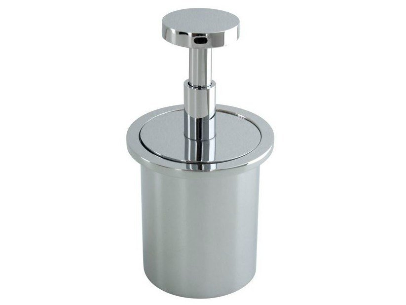 Metal liquid soap dispenser MOOD | Liquid soap dispenser by Noken