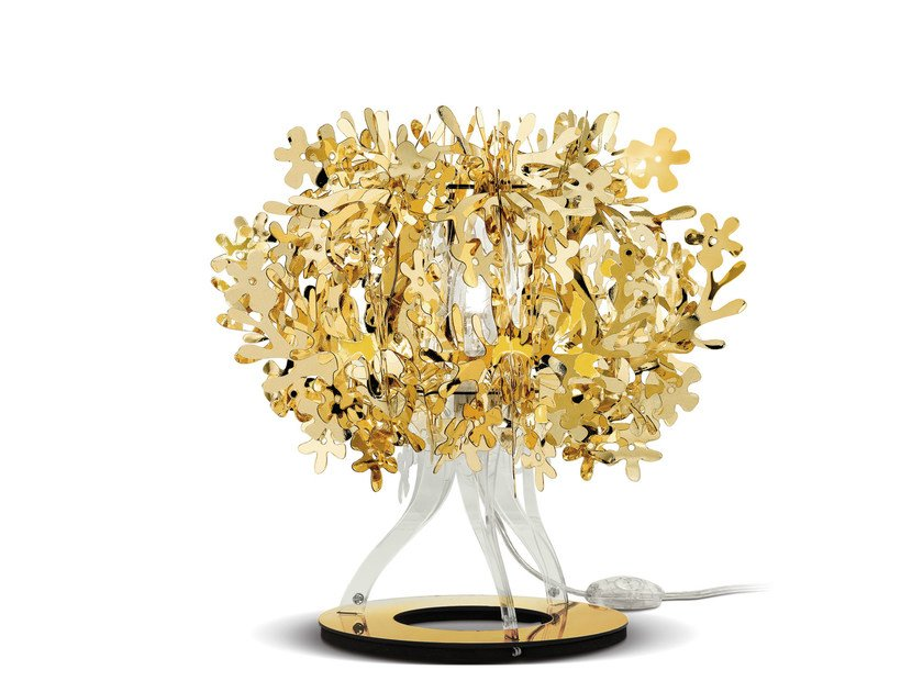 Goldflex® table lamp FIORELLINA GOLD by Slamp