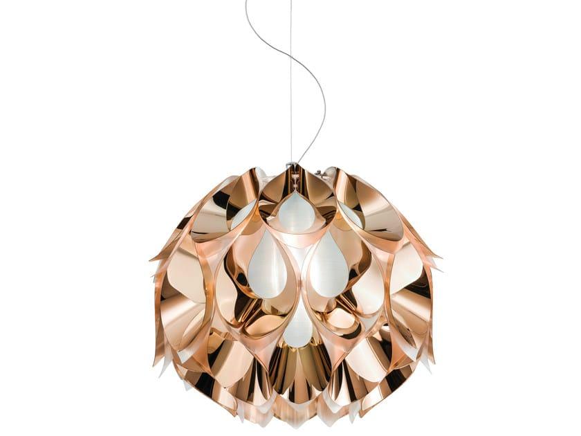 Indirect light Copperflex pendant lamp FLORA MEDIUM COPPER by Slamp