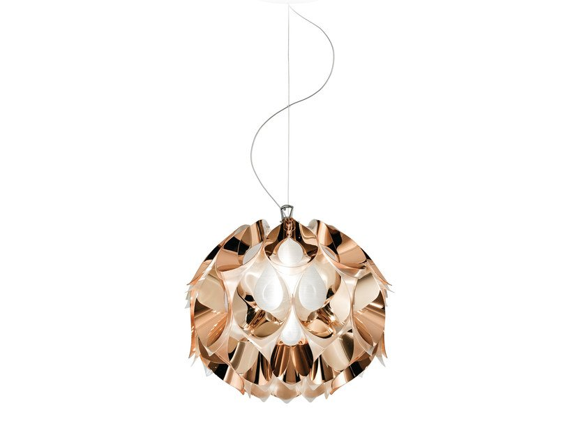 Indirect light Copperflex pendant lamp FLORA COPPER by Slamp